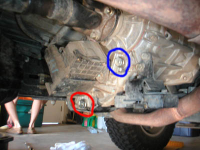Web Transfer Case Plugs